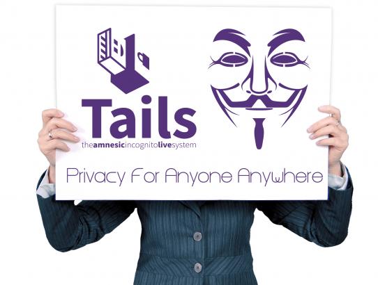 [まったく痕跡を残さないLinux]Tails LinuxをUSBにインストールして持ち運びしよう!!
